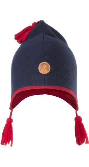 Finkid Pipo Bonnet Kids Navy/Red